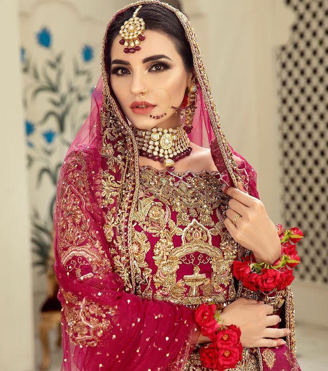 Sadia Khan Flaunts Elegance In Her Latest Bridal Shoots