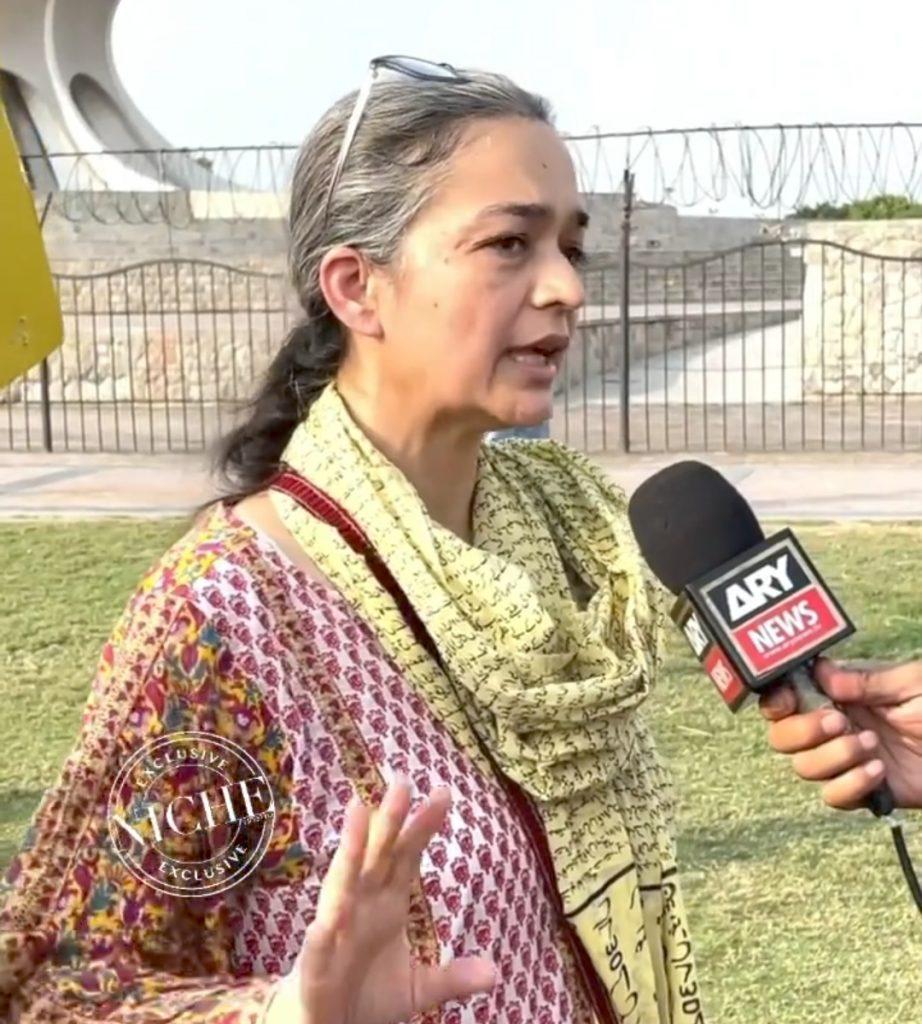 Minar e Pakistan Protest - Actors & Social Activists Took Part
