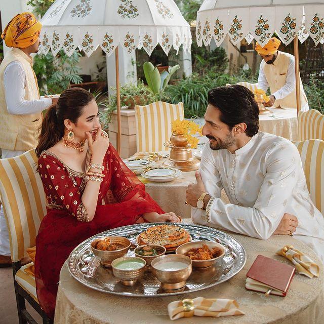 Sana Javed And Bilal Ashraf Pair Up For Shadmani By Qalamkar