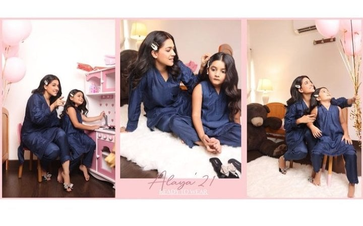 Sanam Jung's Adorable Photoshoot With Daughter Alaya