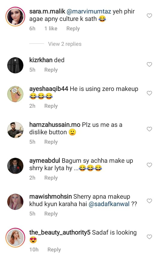 Shahroz Sabzwari Faces Online Trolling For Using Makeup In A BTS Video
