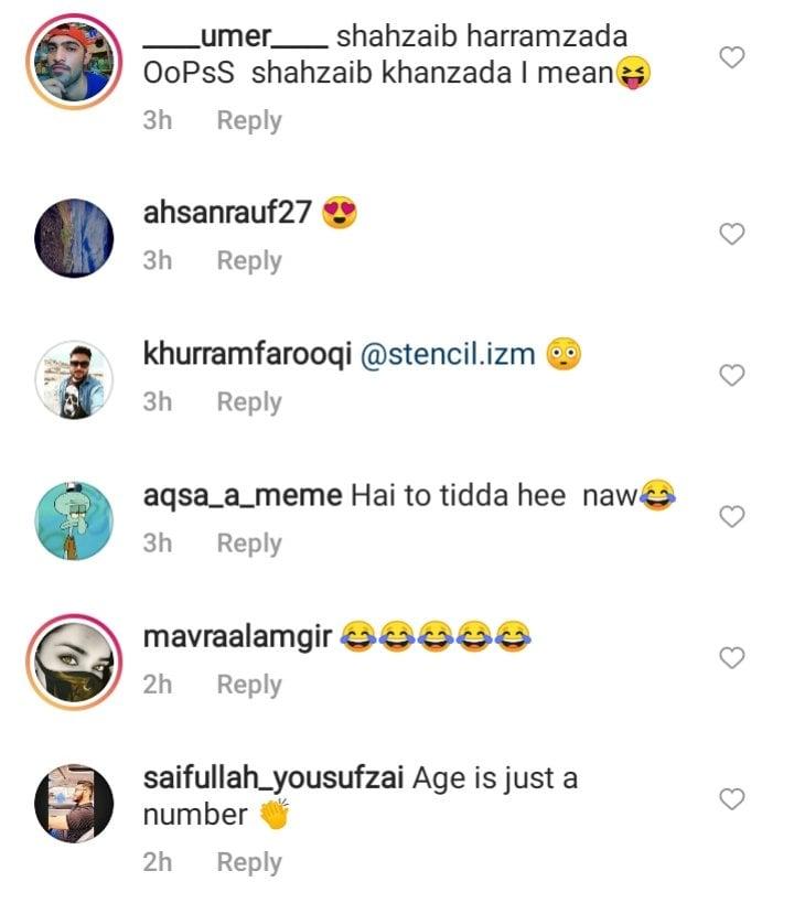 Public Criticism On Shahzeb Khanzada's Recent Picture