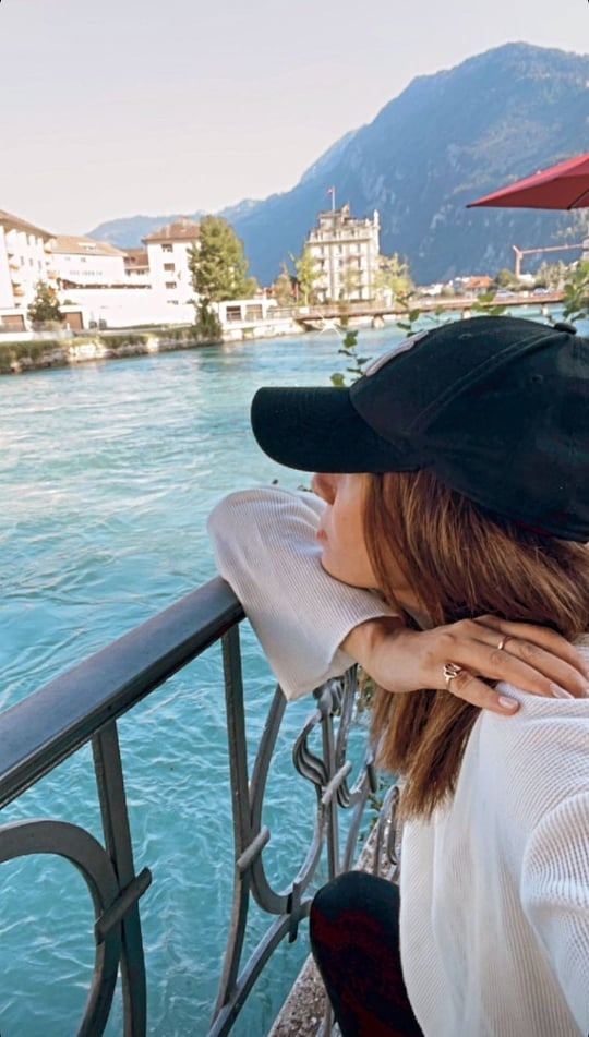 Tooba Siddiqui Vacationing With Family In Switzerland
