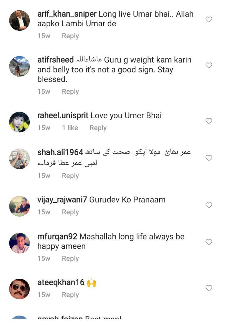 Umer Shareef Is Unwell - Fans Extend Prayers