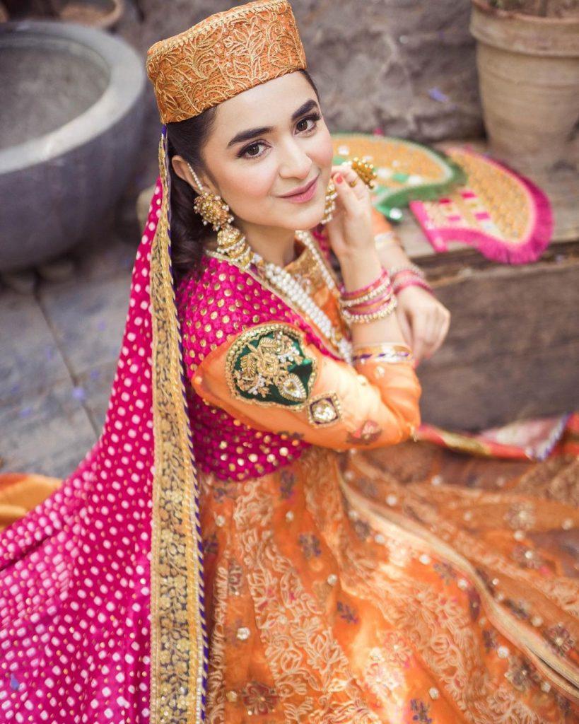 Top Five Elegant Bridal Looks of Yumna Zaidi