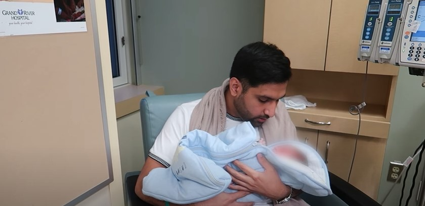 Zaid Ali's New Vlog Is All About His New Born Son Izyan Ali