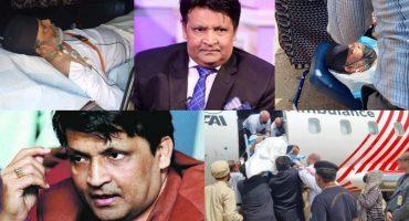Legendary Actor Umer Sharif Leaves For USA