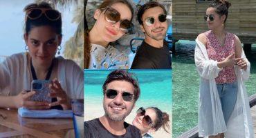 Adorable Clicks From Minal Khan And Ahsan Mohsin Ikram's Honeymoon - Day 2