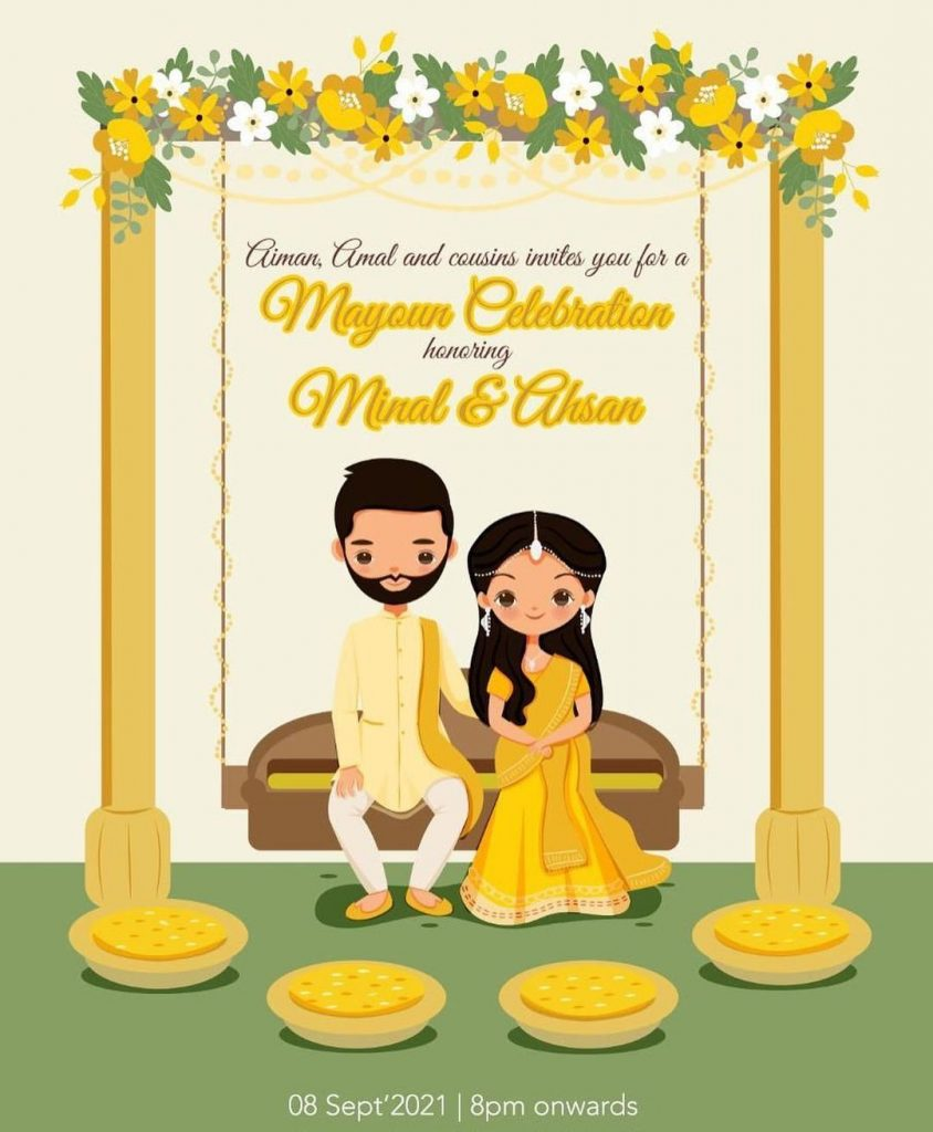Ahsan Mohsin Ikram Shares Fun Filled Invites For His Wedding Events
