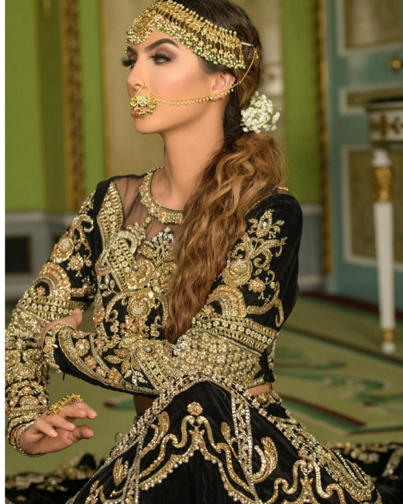 Faryal Makhdoom Epitomizes Beauty In Her Latest Bridal Shoot