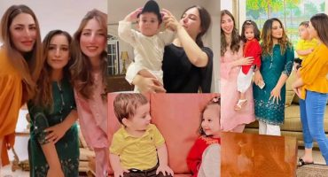 Naimal Khawar Khan Shares Adorable Pictures With Son