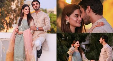 The Newlyweds Minal Khan And Ahsan Mohsin Ikram Pictures