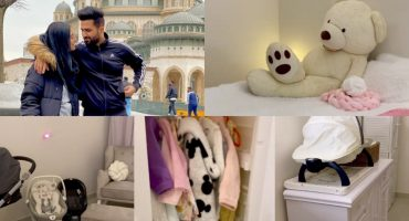 Falak Shabir Excitedly Gives A Peek Into His Baby's Nursery - Comments