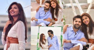 Latest Loved-up Pictures of Sunita Marshall With Husband