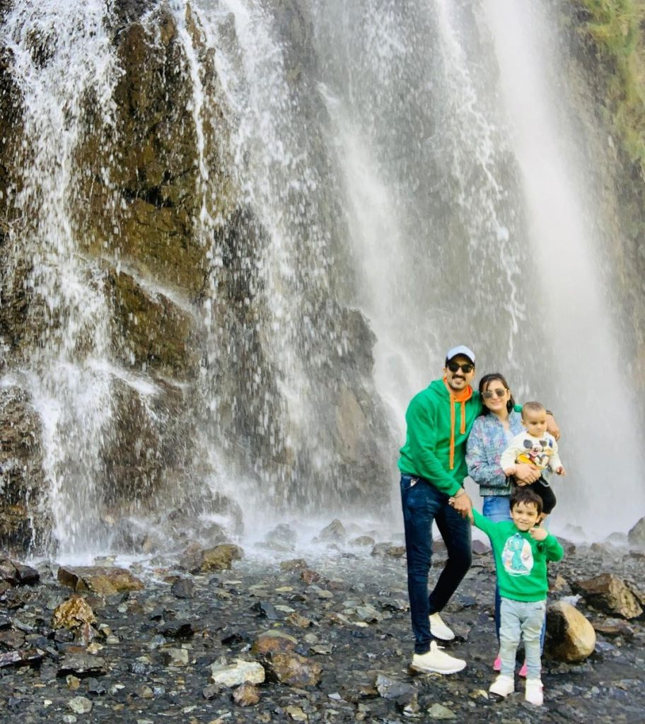 Hammad Farooqui Vacationing With Family In Skardu