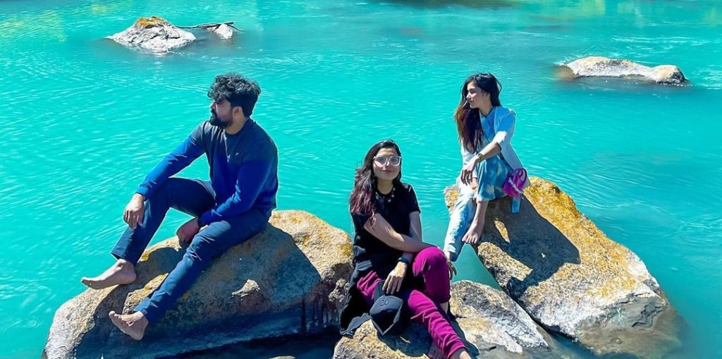 Syeda Tuba Aamir Vacationing With Friends