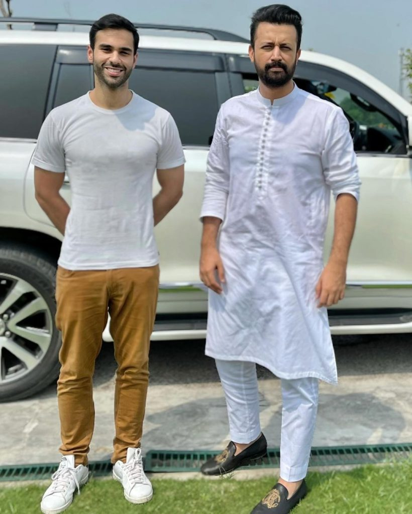 ISPR Releases New Patriotic Song Featuring Atif Aslam And Ameer Gillani