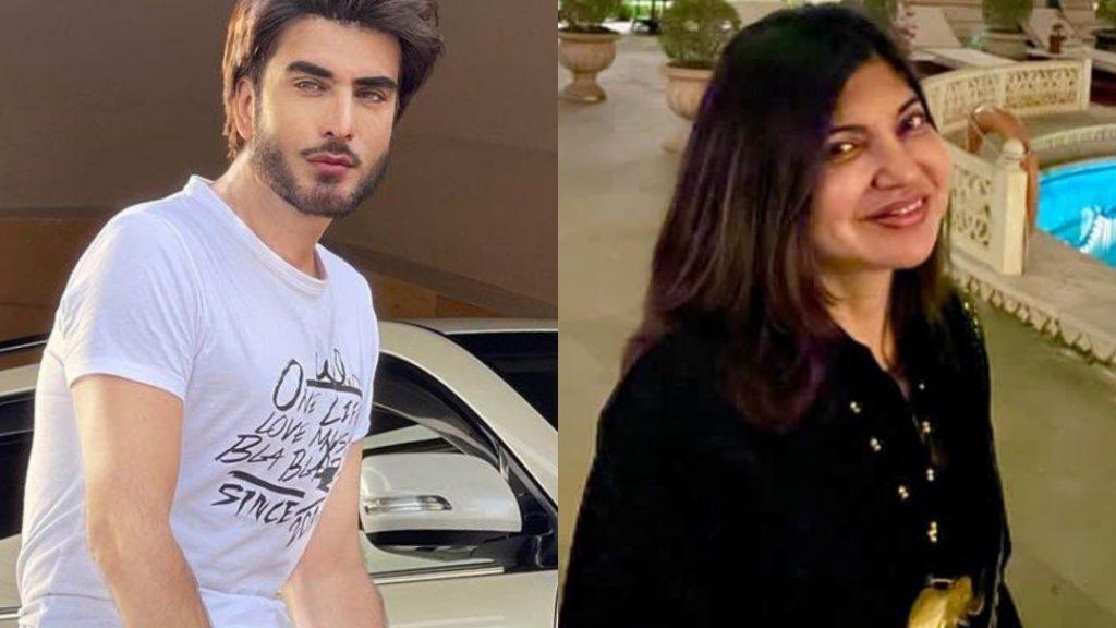 Alka Yagnik Waits For Imran Abbas's Drama Amanat