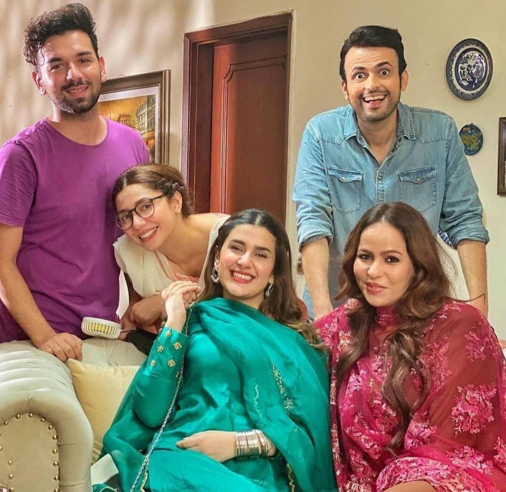 Kubra Khan's Interesting Comments About Mahira Khan