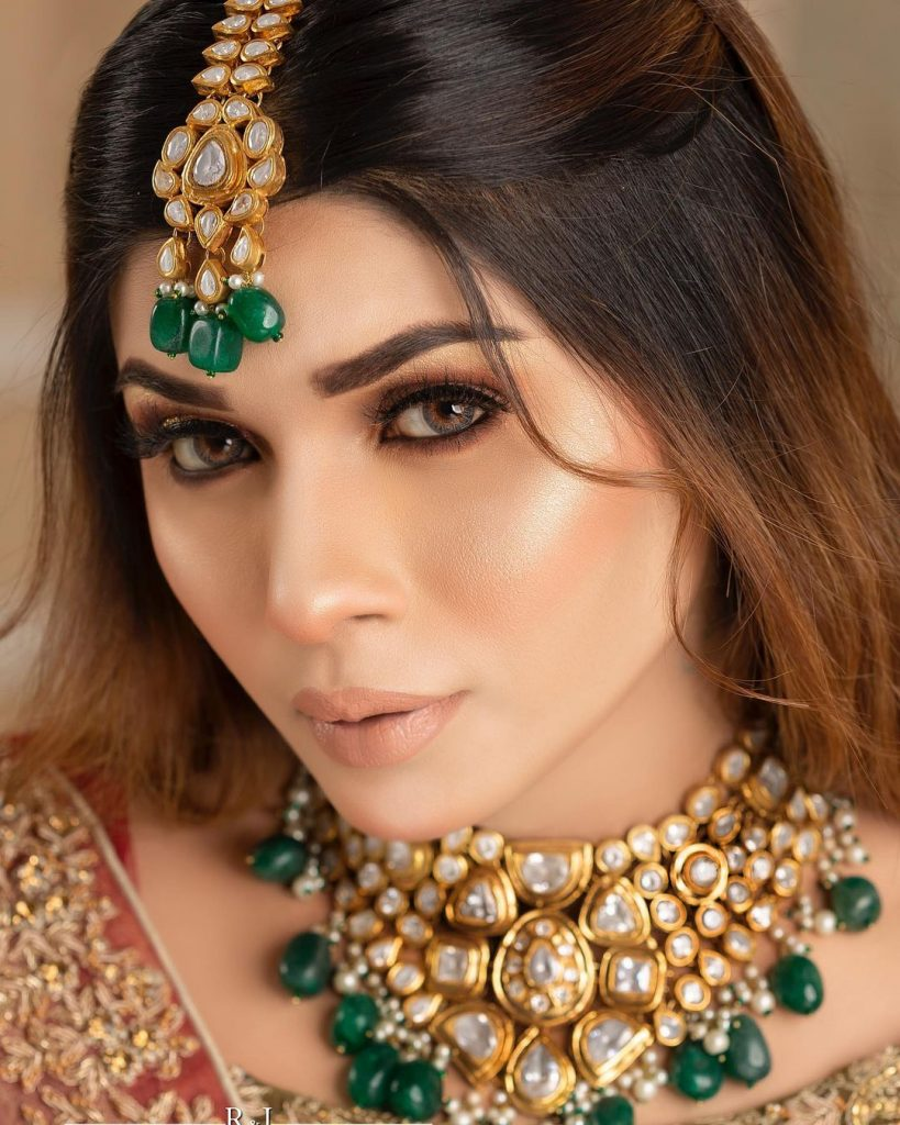 Mahi Baloch Nails Ethereal Charm In Her Latest Bridal Shoot