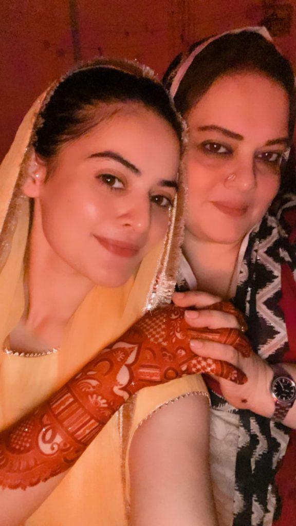 Minal Khan And Ahsan Mohsin Ikram's Pre-Wedding Celebrations