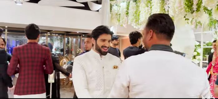 Muneeb Butt's Fun-Filled Vlog From Minal's Wedding