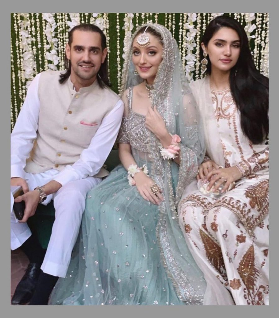 Neha Rajpoot And Shahbaz Taseer's Reception Pictures Invite Severe Criticism