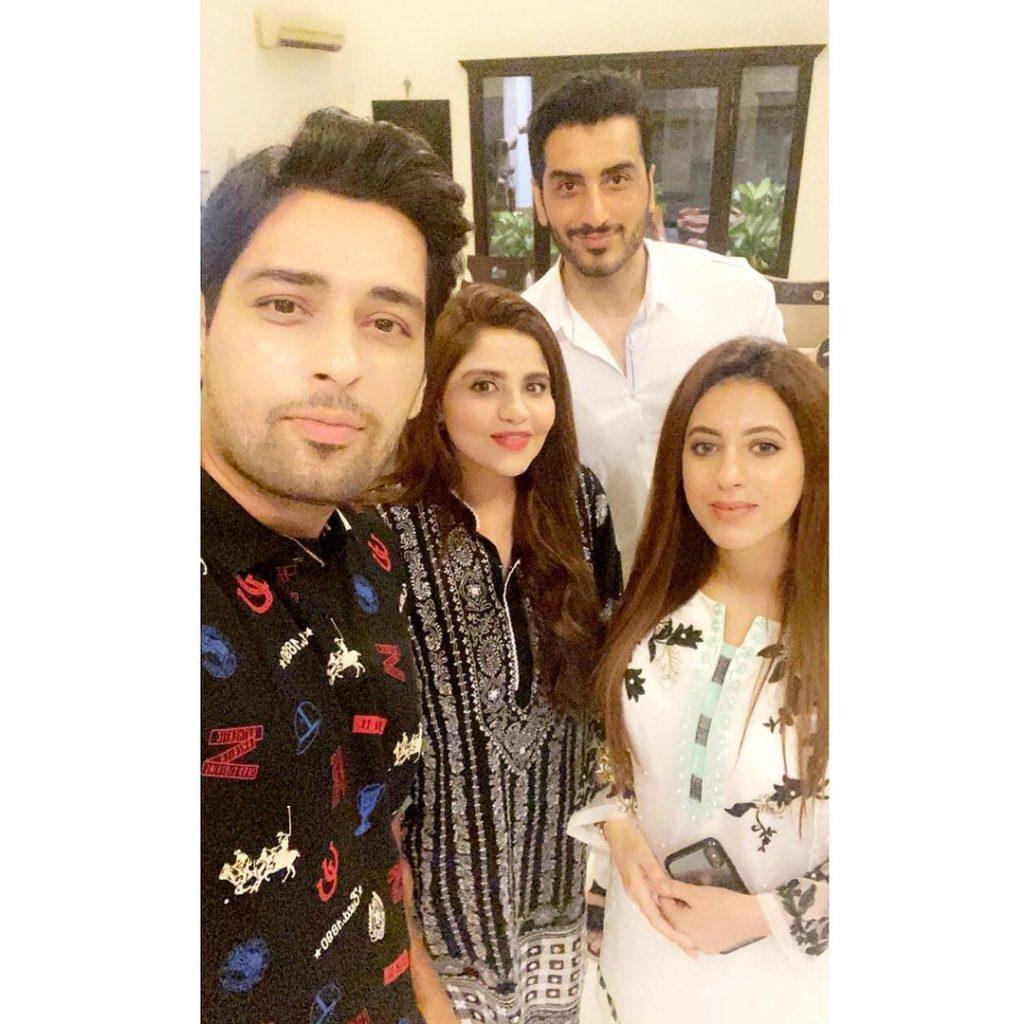 Family Gathers At Salman Saeed Anniversary