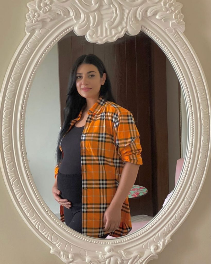 Sarah Khan Faces Severe Criticism On Flaunting Her Baby Bump