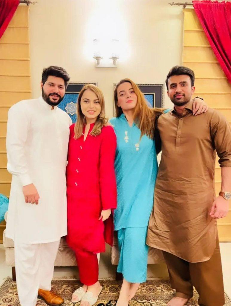 Shagufta Ejaz Hosts Dinner - Family Pictures