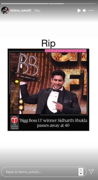 Pakistani Celebrities Express Their Grief On Sidharth Shukla's Sudden Death