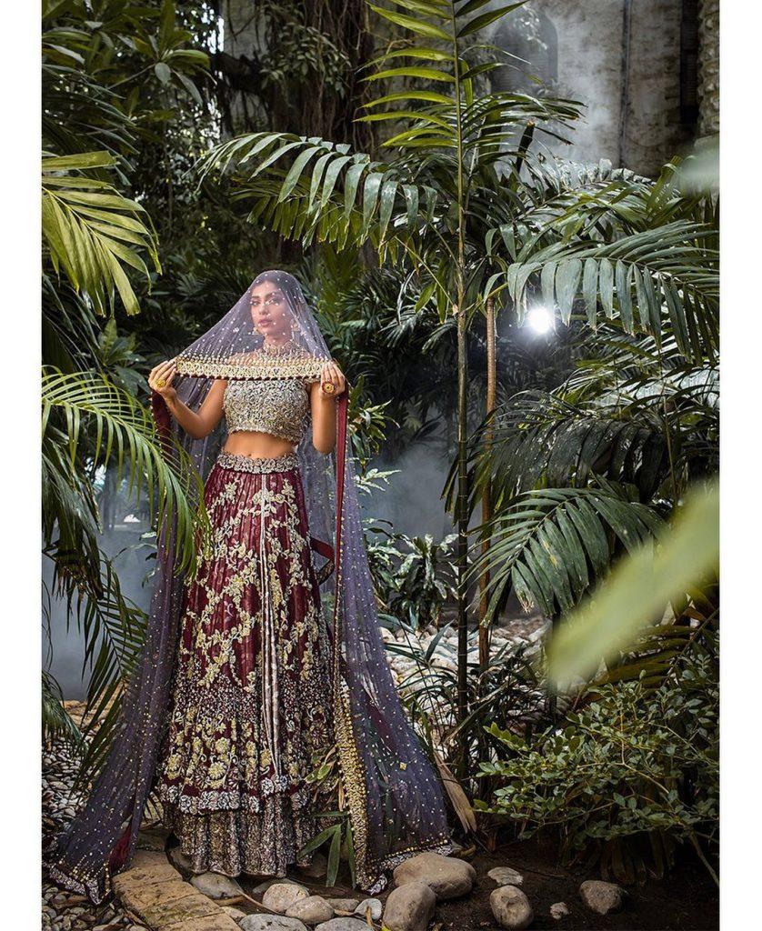 Sonya Hussyn Looks Regal In Her Latest Bridal Shoot