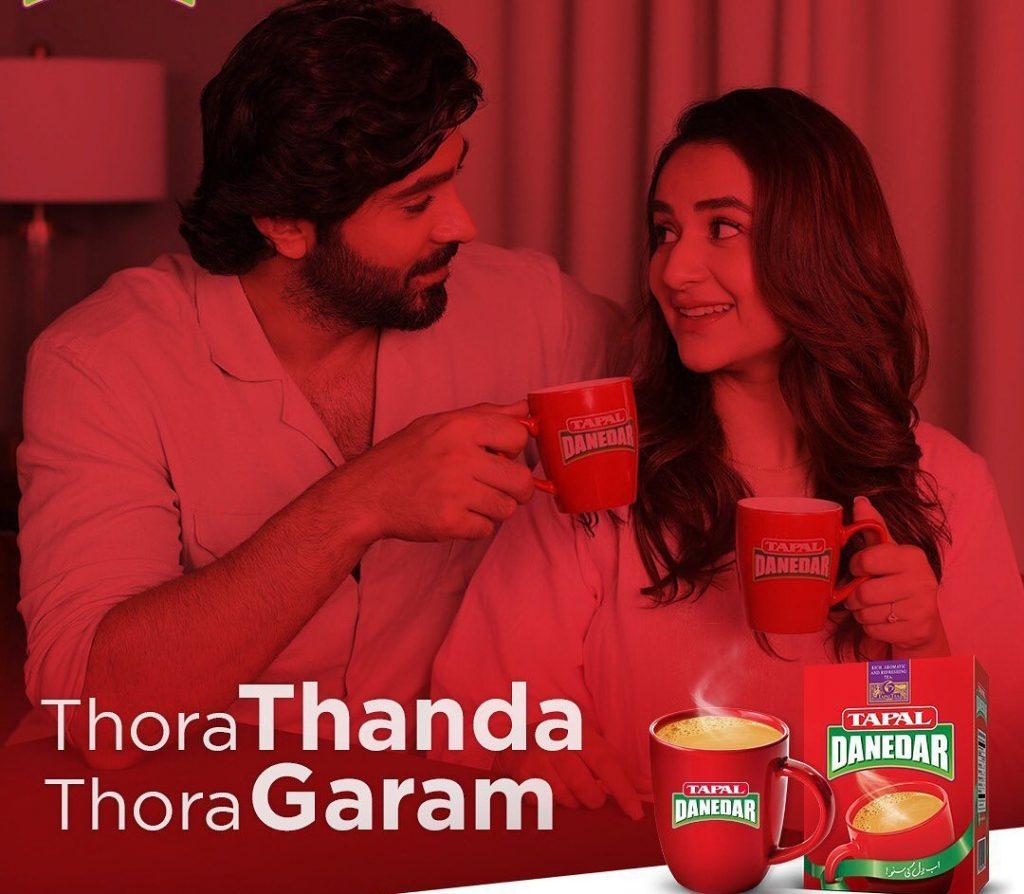 Yumna Zaidi & Sheheryar Munawar's New Tapal Ad Wins The Public over