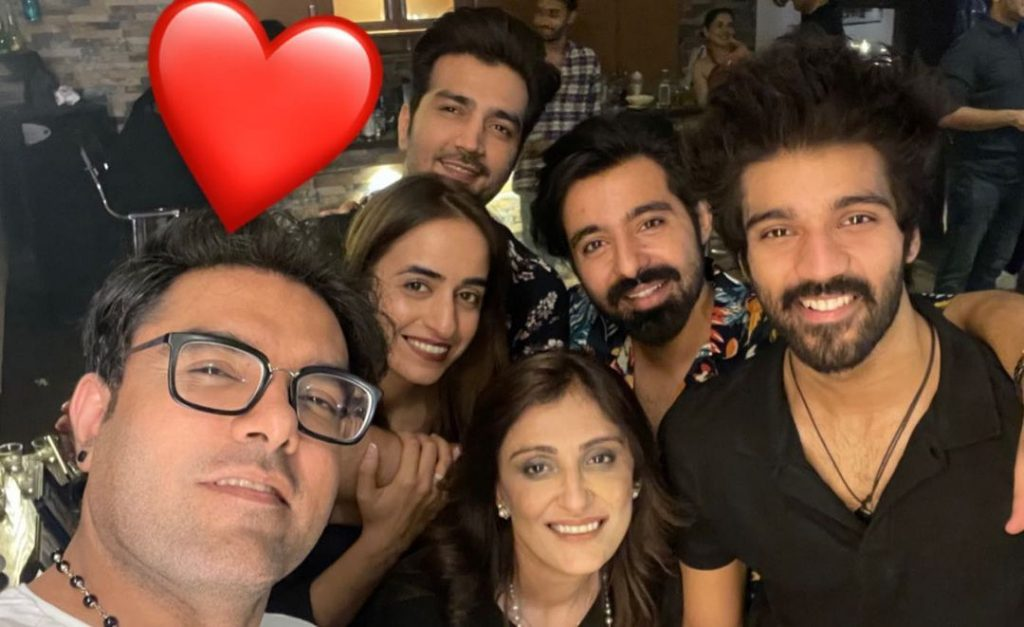 Star-Studded Birthday Party Of Umer Mukhtar At Wajahat Rauf's Place