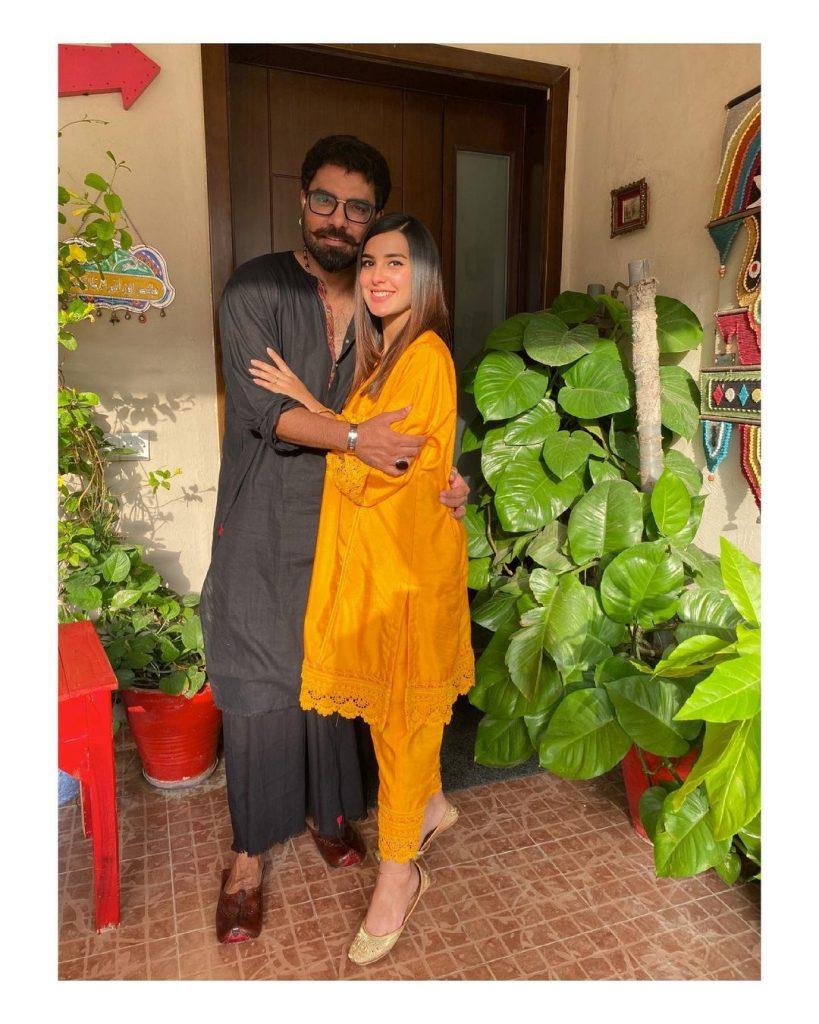 Wajahat Rauf And Family Meets Baby Kabir Yasir Hussain