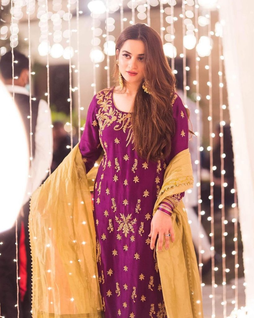 Prices Of The Dresses Minal And Aiman Wore On Minal Khan's Dholak