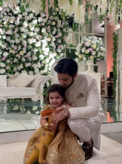Adorable Pictures Of Amal Muneeb From Minal Khan's Wedding Festivities