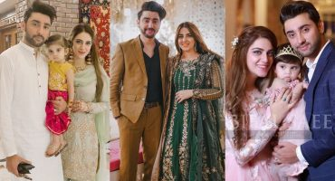 Amanat Ali With His Beautiful Wife And Daughter- Unseen Pictures