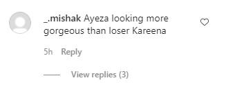 Ayeza Khan Spotted Wearing Same Dress As Kareena Kapoor - Public Reaction