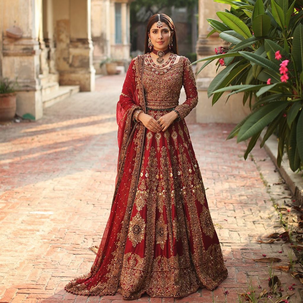Aisha Imran Bridal Collection'21 Featuring Ayeza Khan