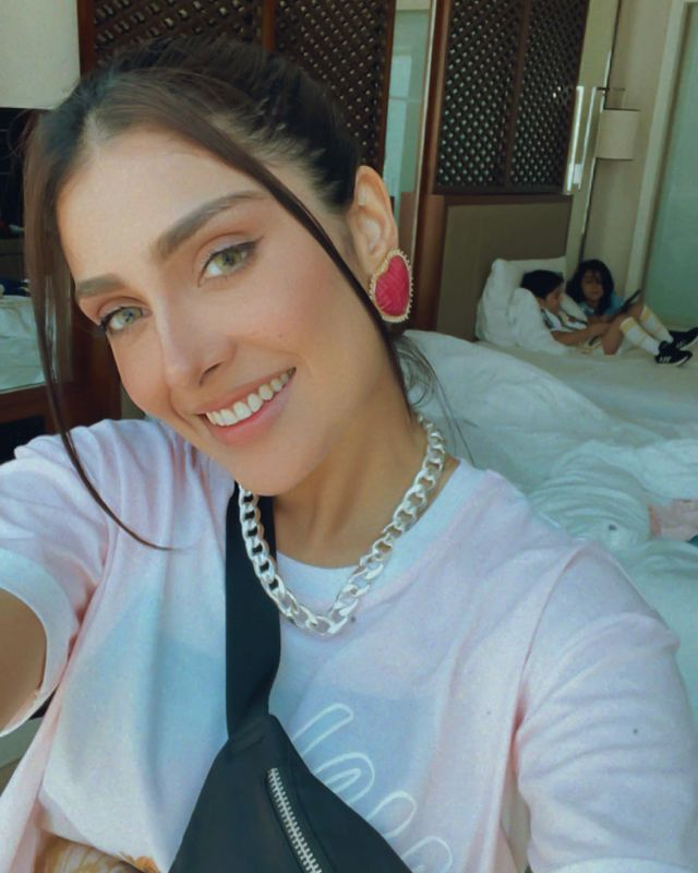 Ayeza Khan Spending Quality time With Family
