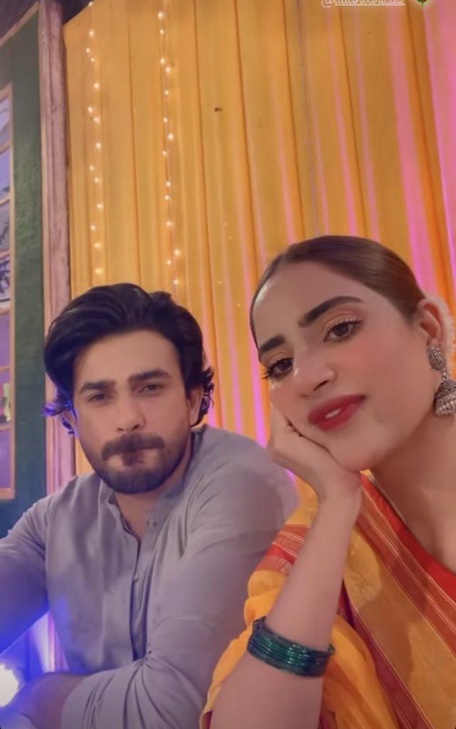 Celebrities Clicks From Minal Khan Mayun