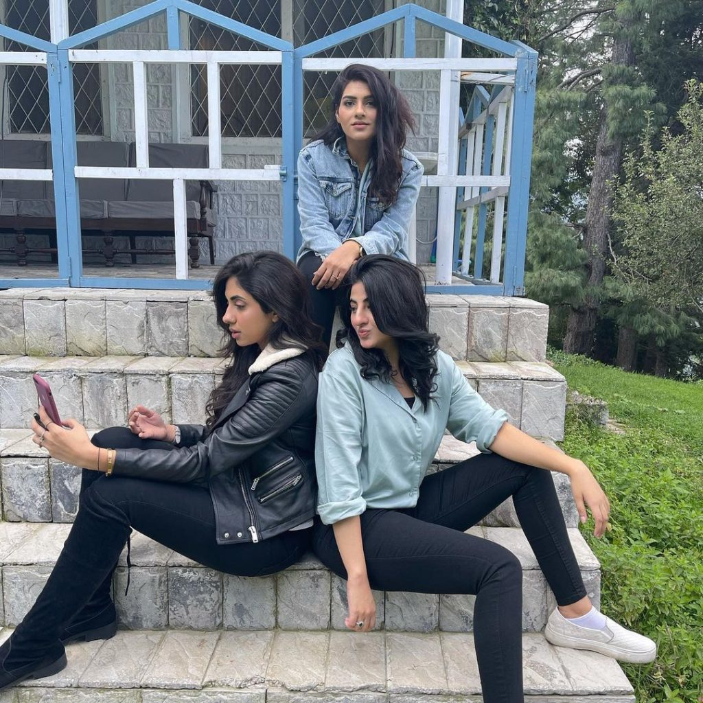Fatima Sohail Enjoying Vacations In Northern Areas