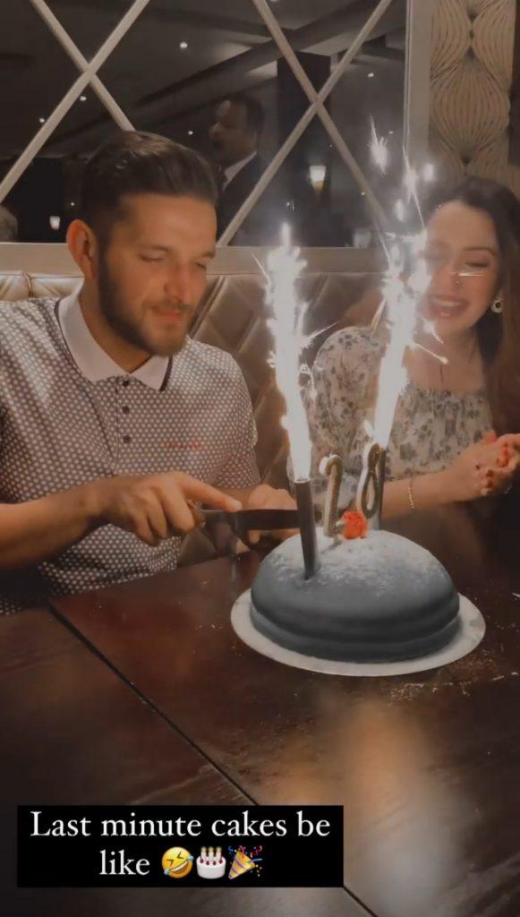 Fiza Khawar Celebrated Her Husband's Birthday
