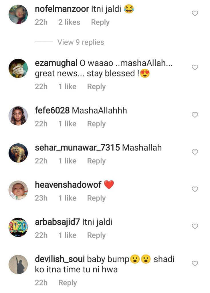 Ghana Ali Replies To People Questioning Her Pregnancy