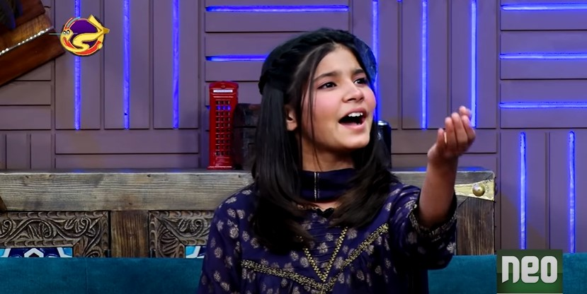 """Hadia Hashim Stole The Limelight In """"G Sarkar"""" With Her Melodious Voice"""