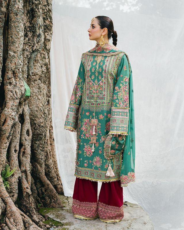 Hania Aamir Featured In Rumli By Hussain Rehar
