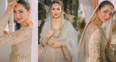 Hania Aamir Looks Splendid In Her Recent Bridal Shoot