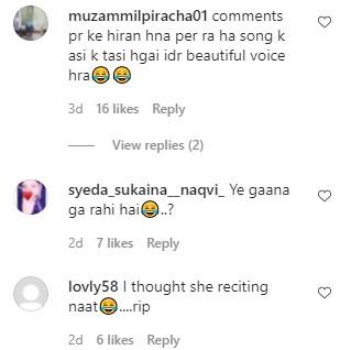 Hiba Bukhari Showed Her Singing Prowess - Public's Hilarious Reaction