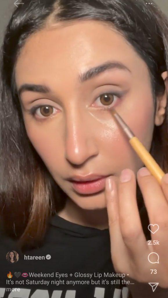 Hira Tareen's Go To Look - Make Up Tutorial